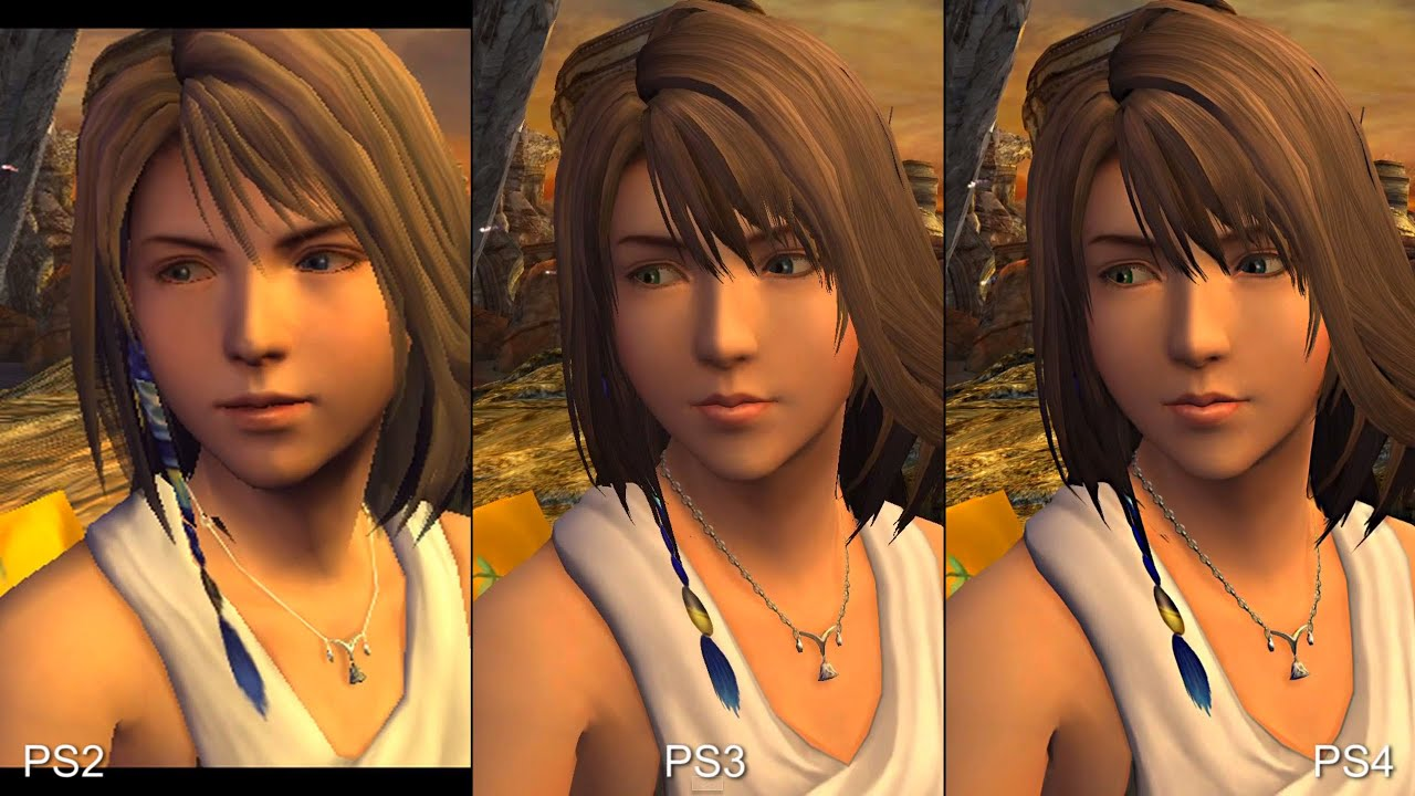 ACT FFX HD Remaster Comparison