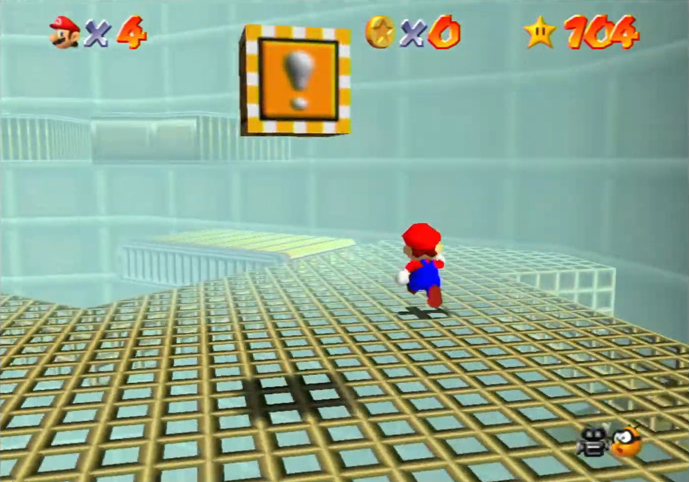 ACT Super Mario 64 Tick Tock Clock