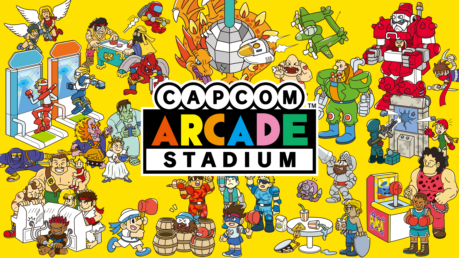ACT Capcom Arcade Stadium