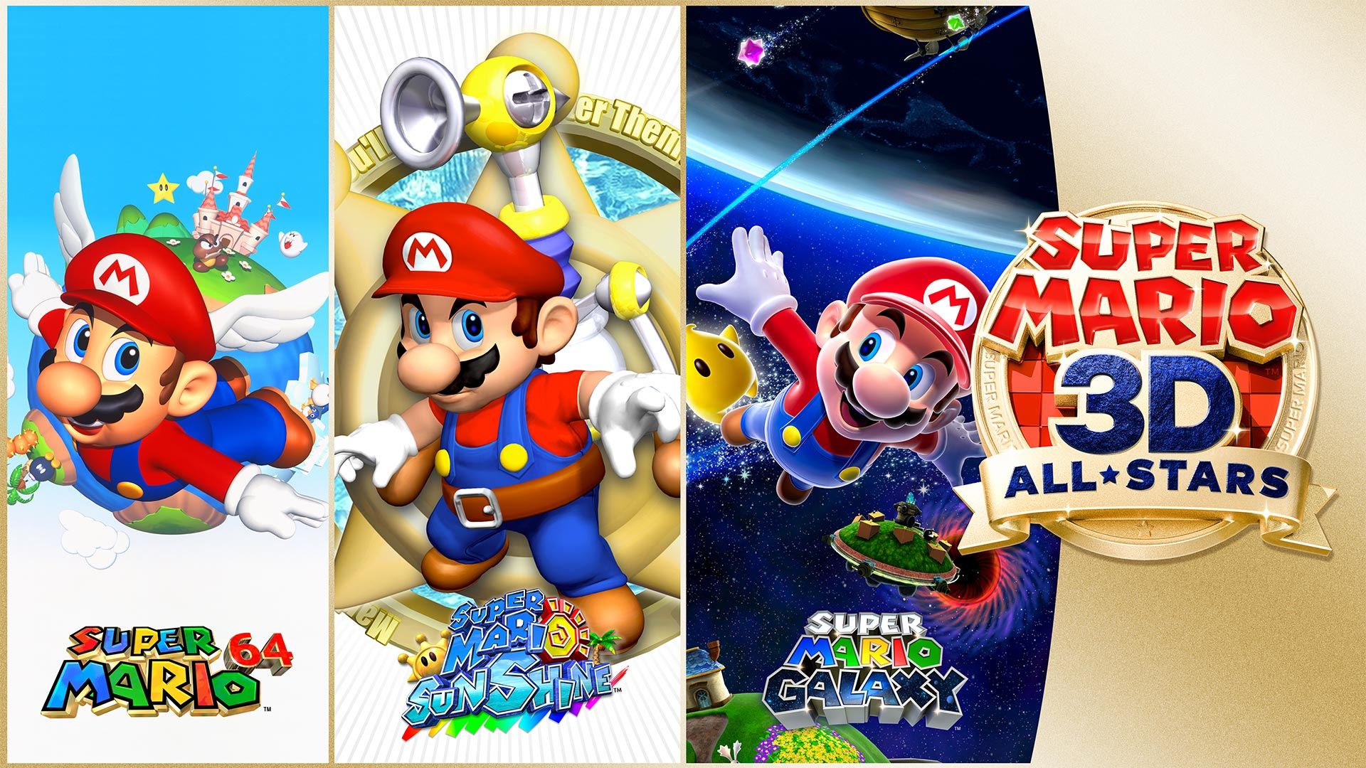 ACT Super Mario 3D All-Stars